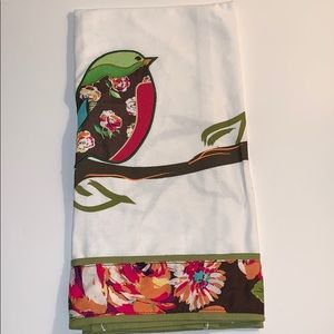 Vera Bradley Home Kitchen Birdie Tea Towel